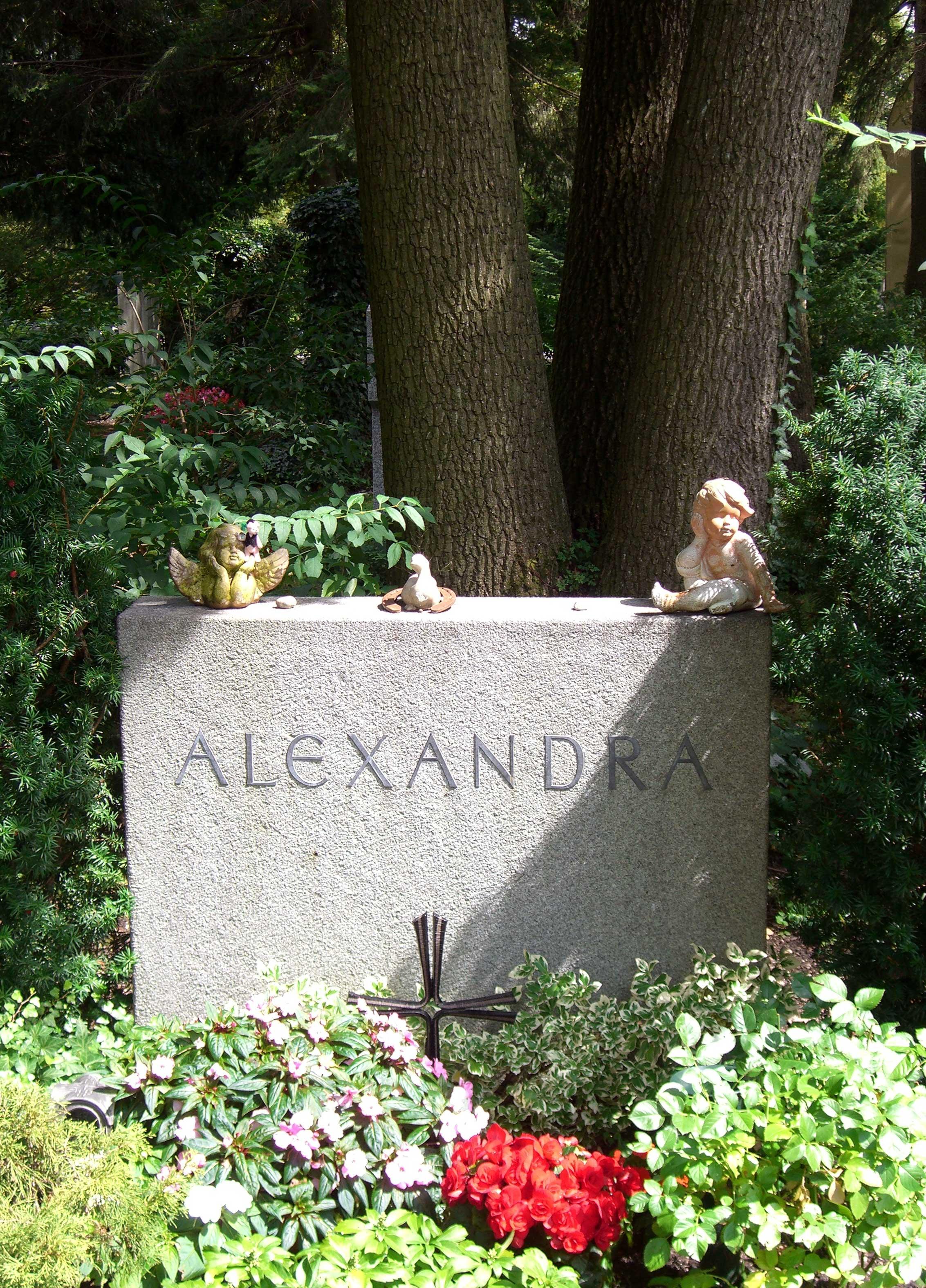 Alexandra Sängerin Sohn