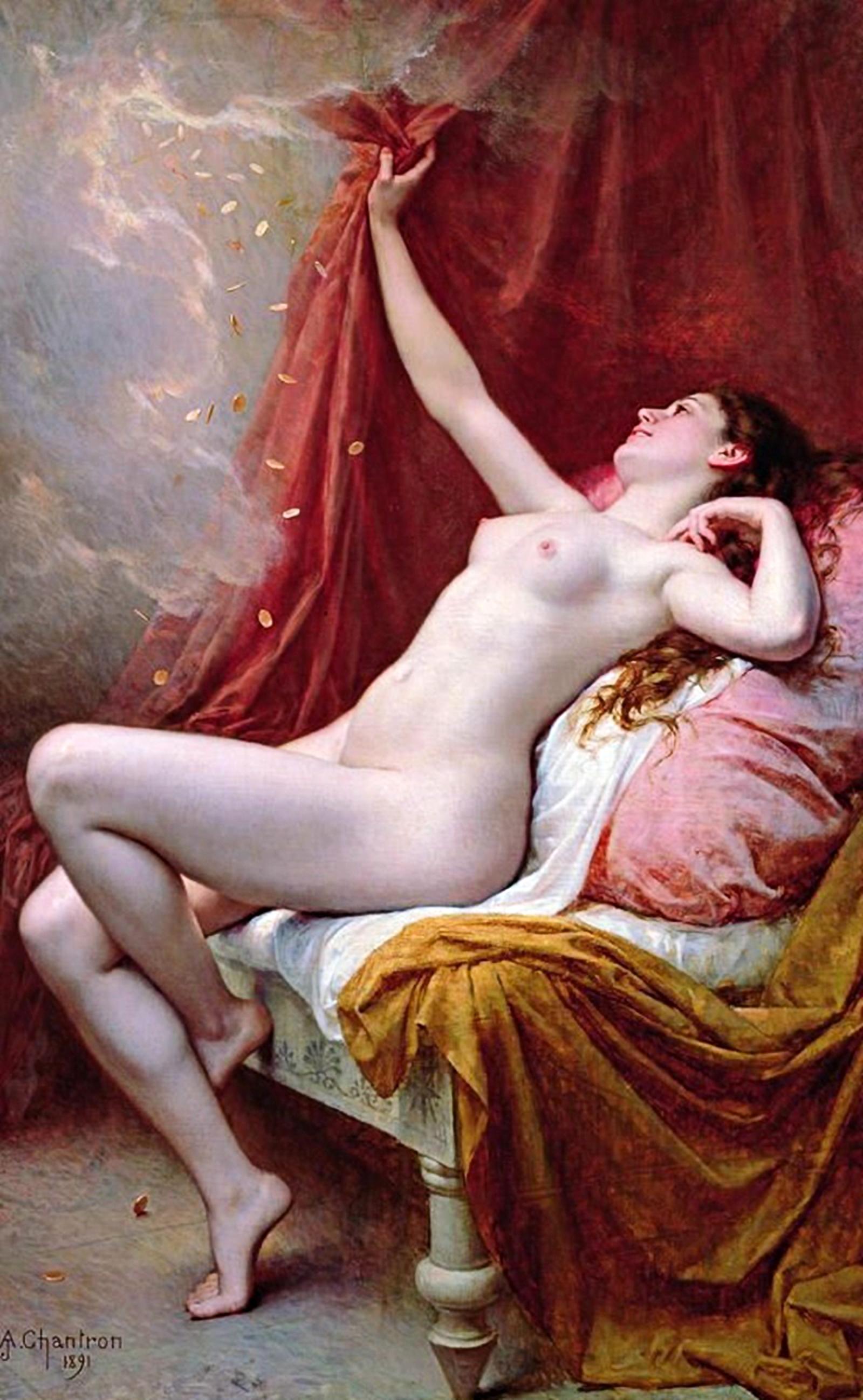 Alexandre Jacques Chantron (1891) Danae.jpg