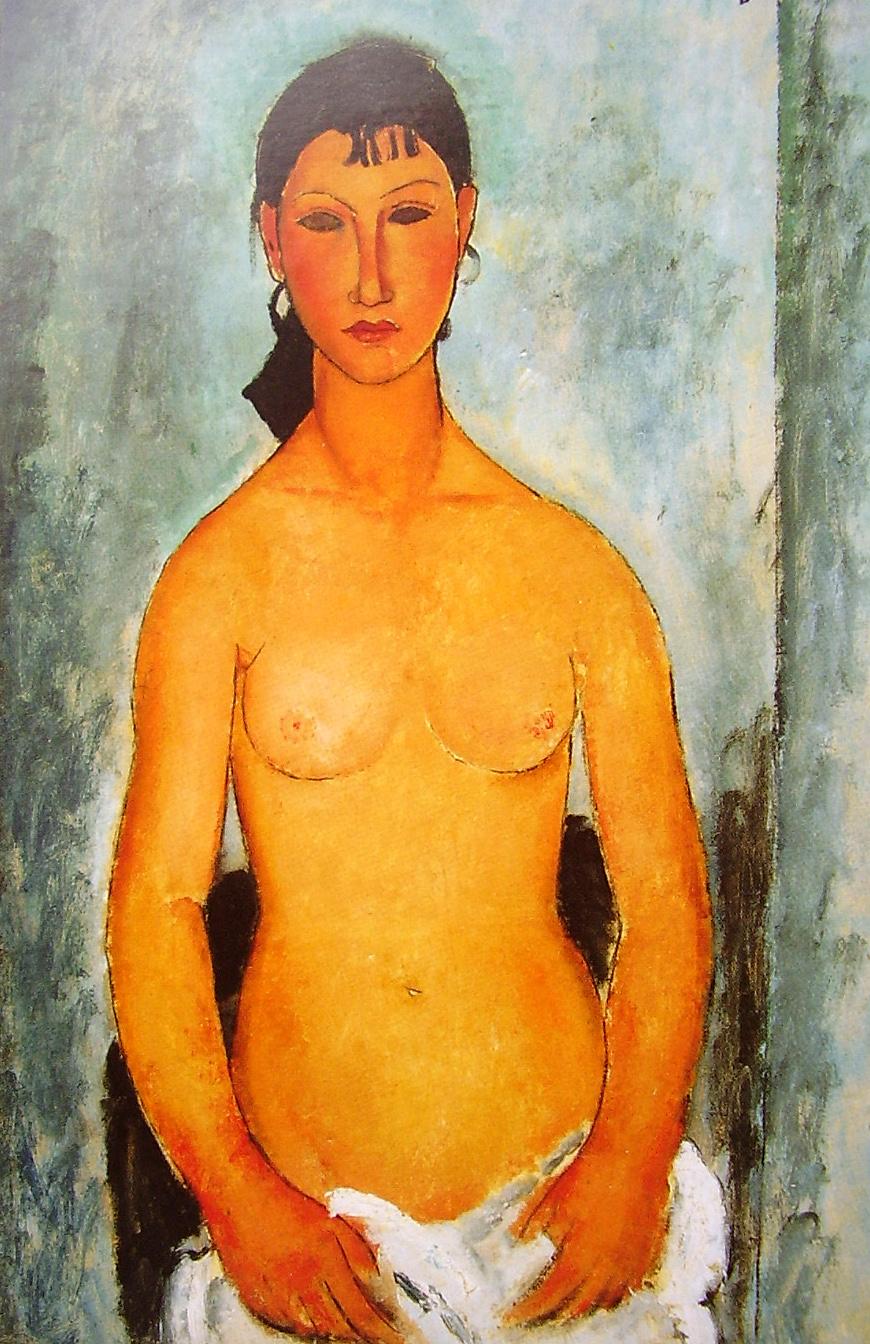 Qual a pintura que mais toca o seu coração ? Amadeo_Modigliani_062