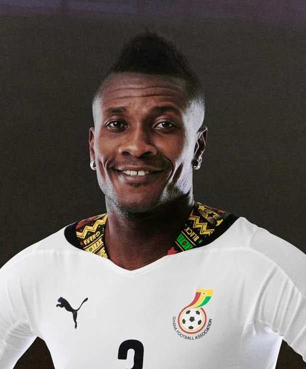 Il 32-anni, 180 cm alto Asamoah Gyan in 2018 photo
