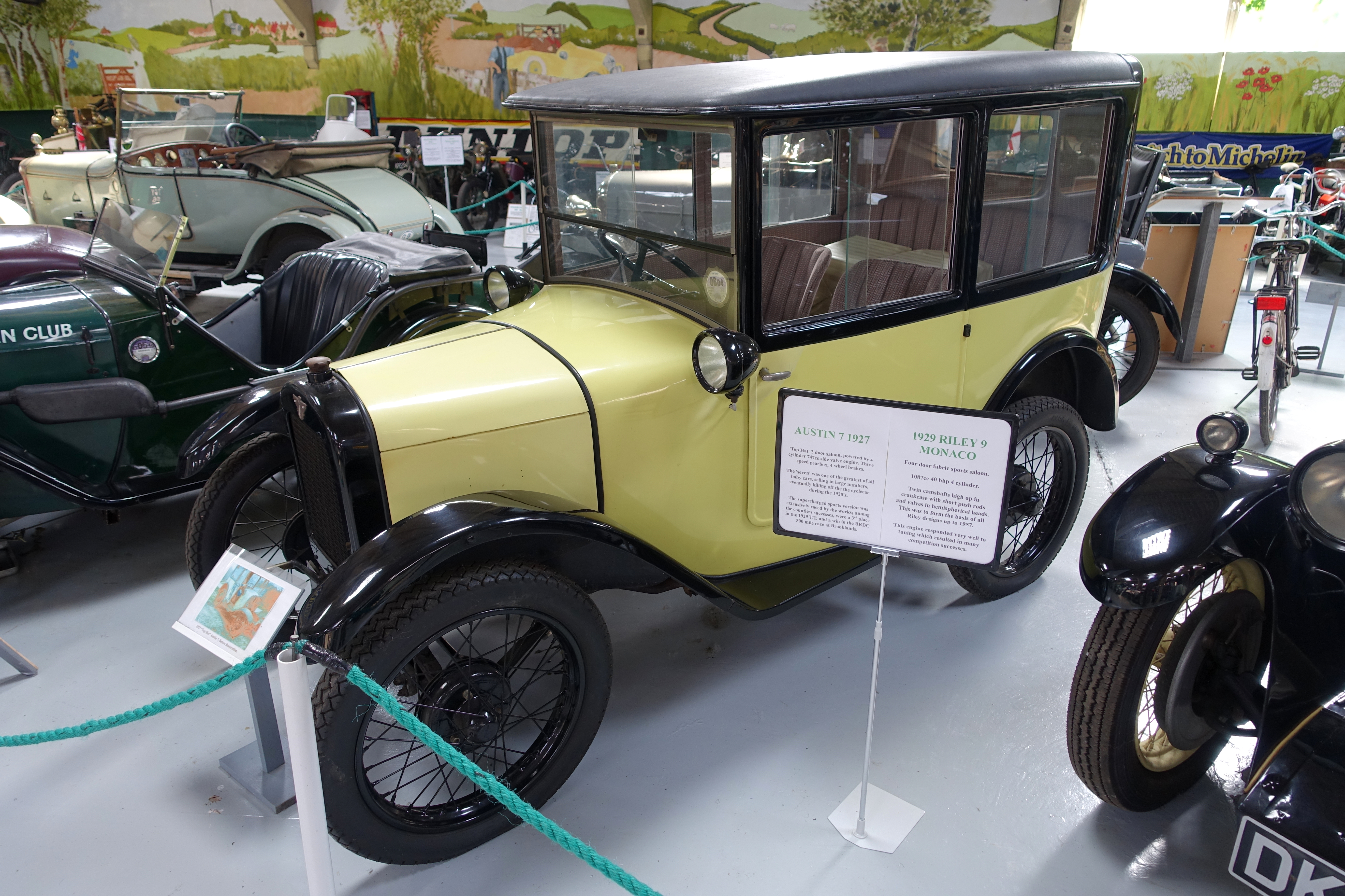 File:Austin 7 1927 - Bentley Wildfowl and Motor Museum - Halland