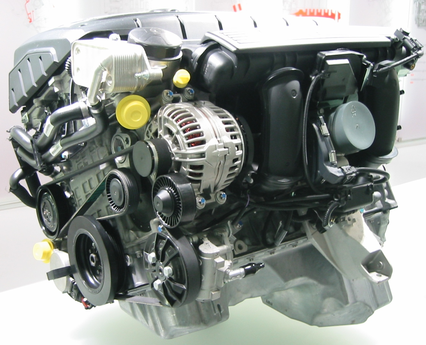 Bmw N52 Wikipedia 318ti Engine Diagram Intake Shown From The Side