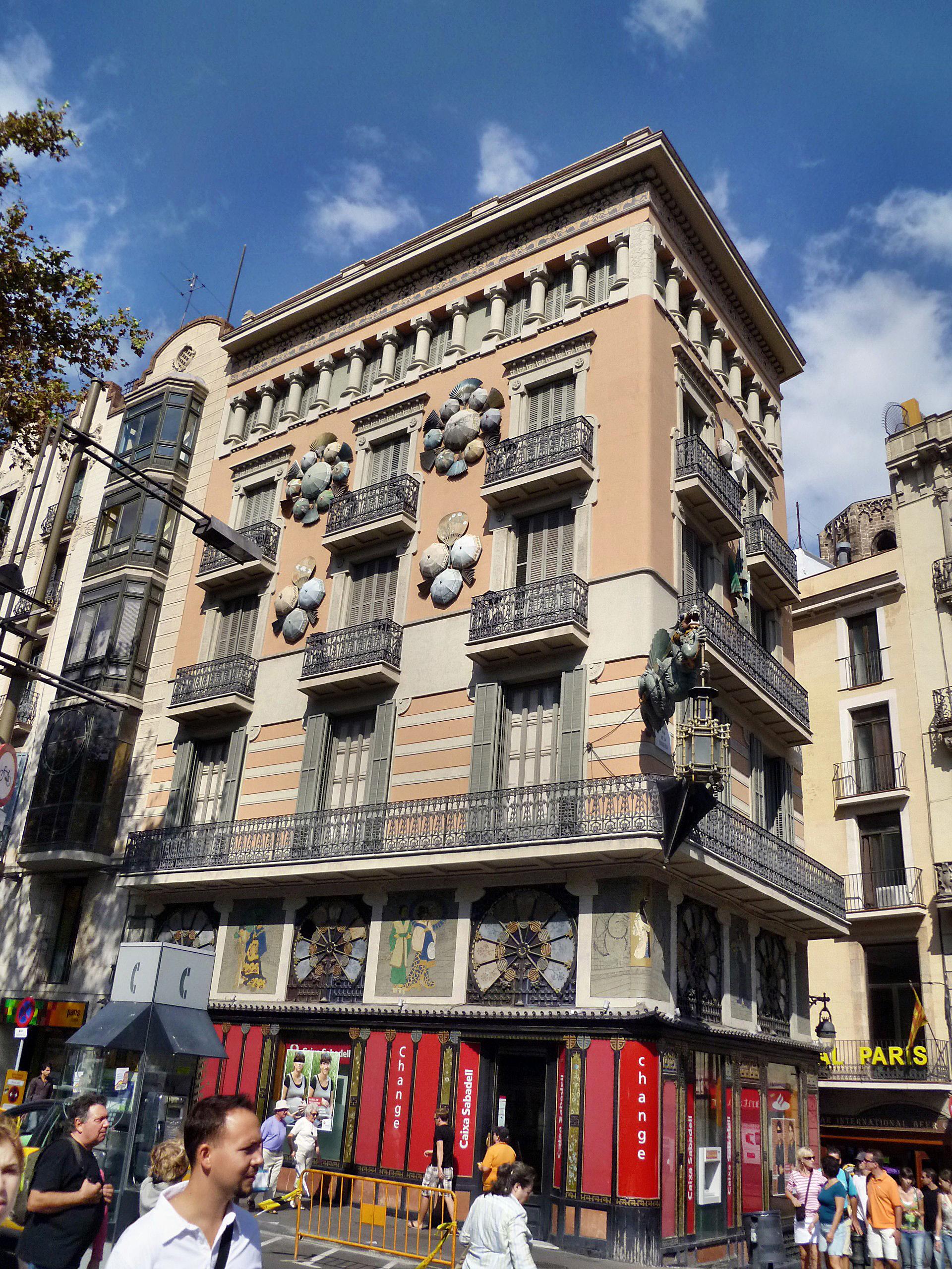 Casa bruno cuadros viquip dia l 39 enciclop dia lliure - La maison barcelona ...