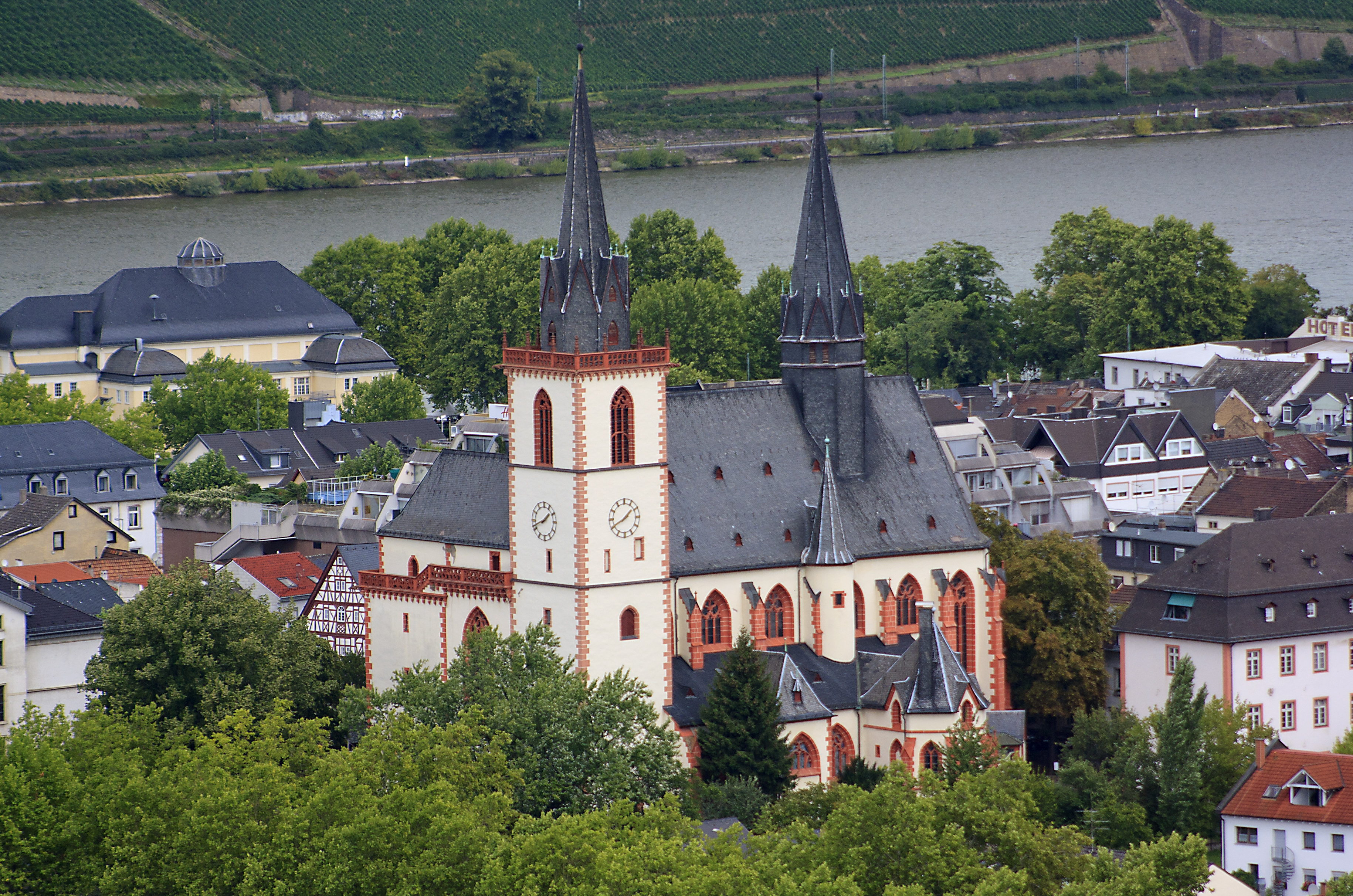 Bingen am Rhein Germany  City pictures : Bingen Basilika St. Martin 20100826 Wikimedia Commons