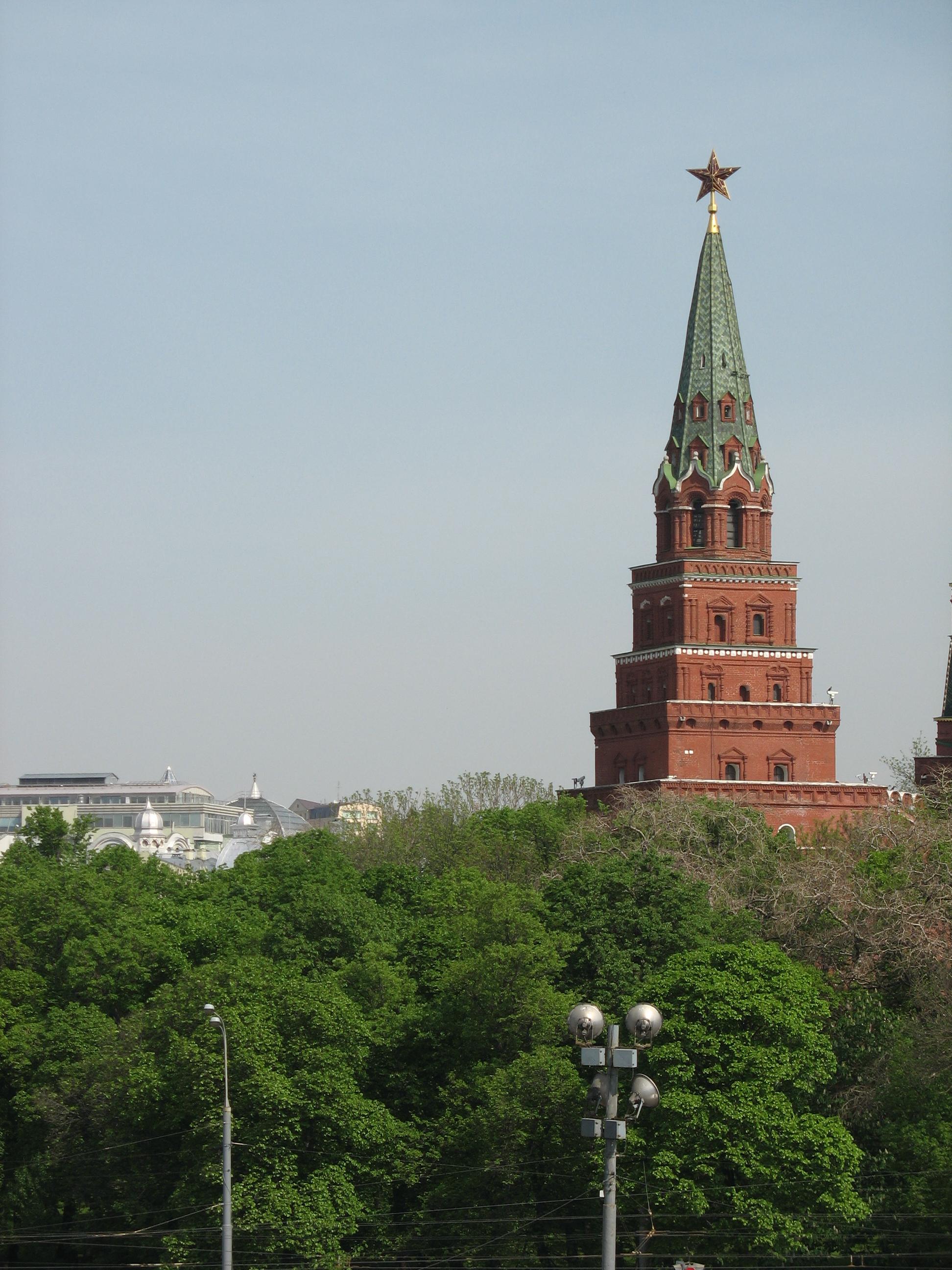 Borovitskaya tower: description and photo 1