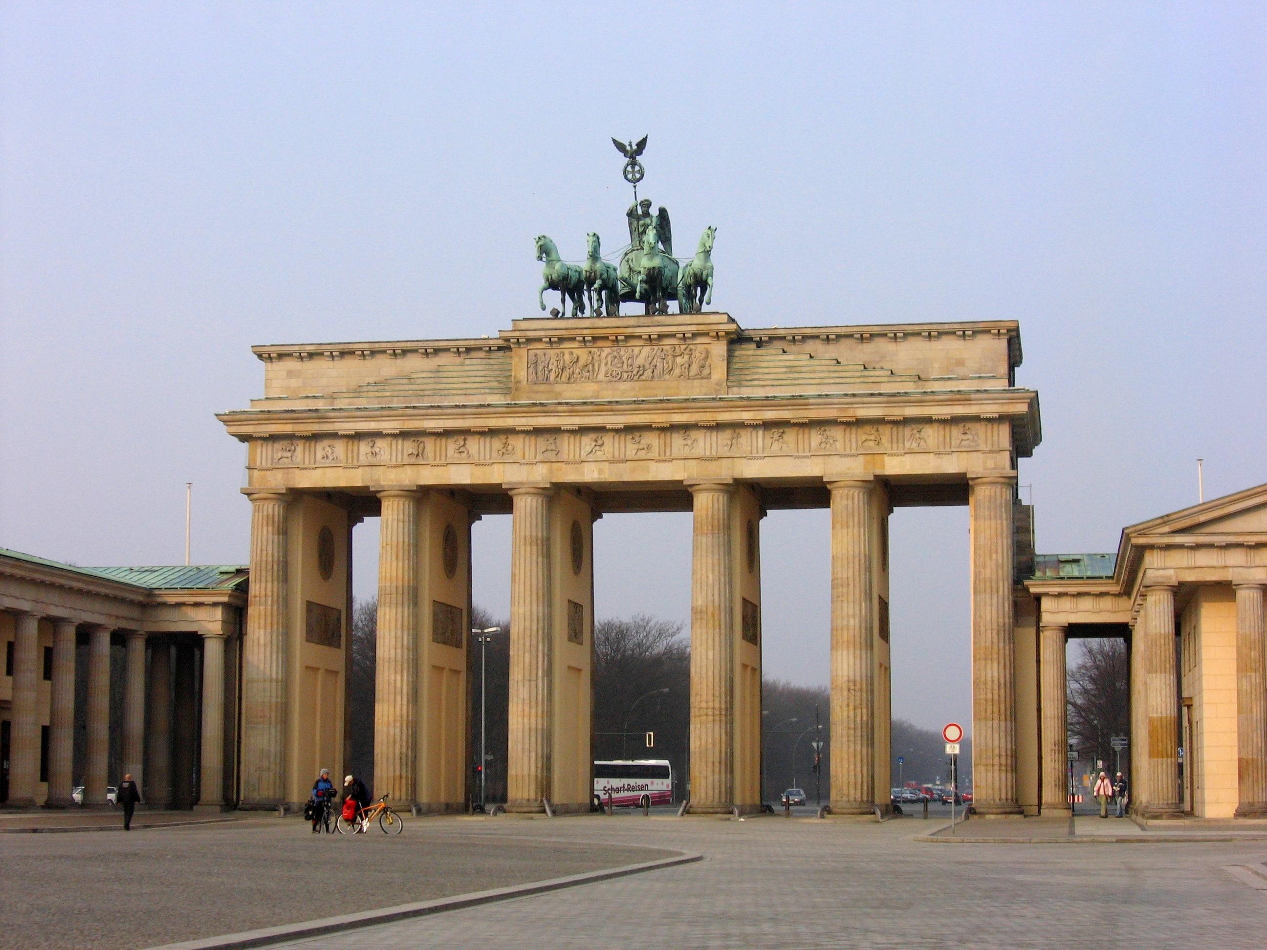 Brandenburg Gate Berlin Photo Brandenburg Gate in Berlin Was