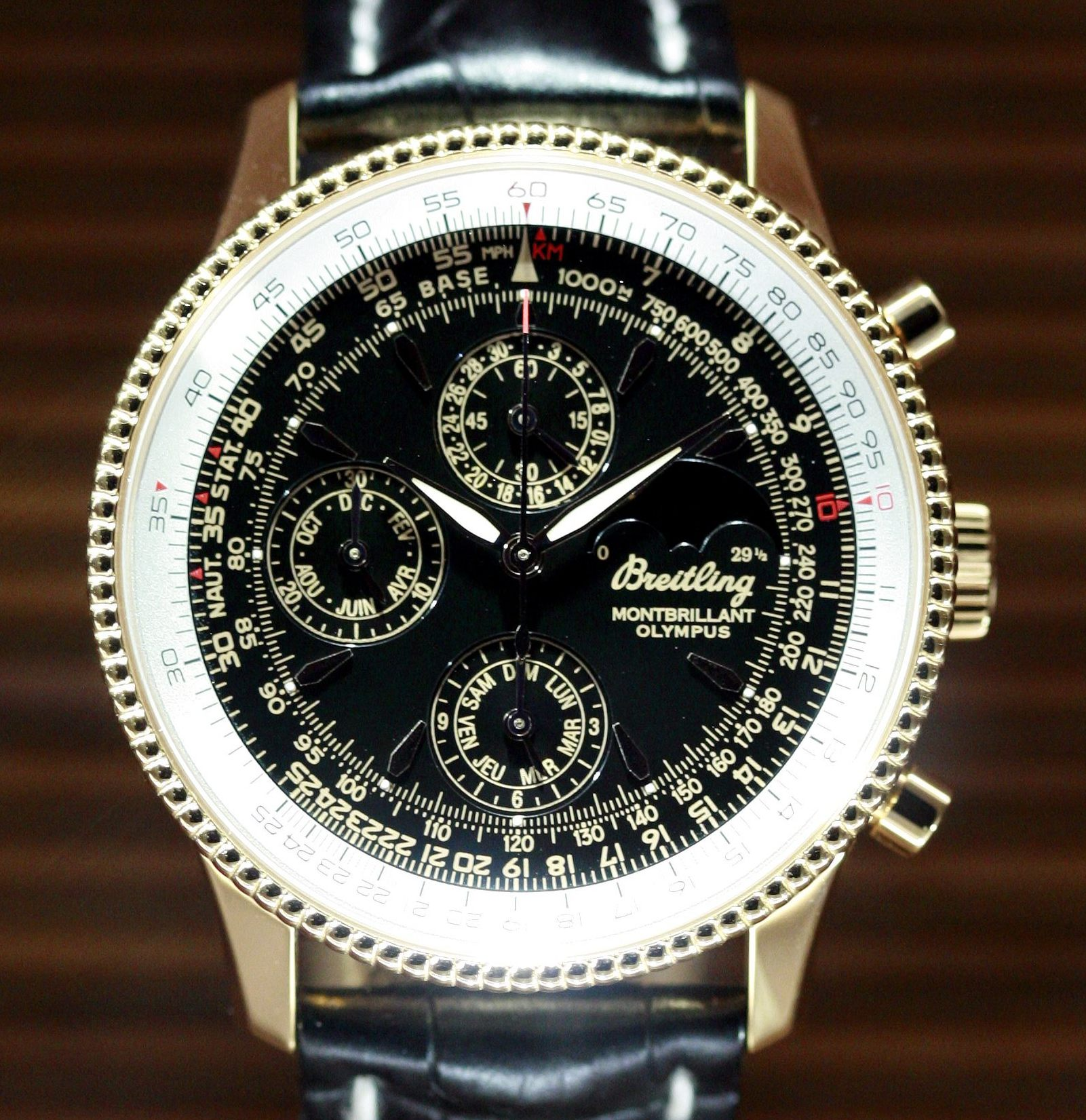 The Breitling watches