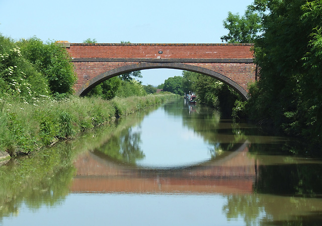 Bridge No 77 and the Barby Straight, Northamptonshire - geograph.org.uk - 969870