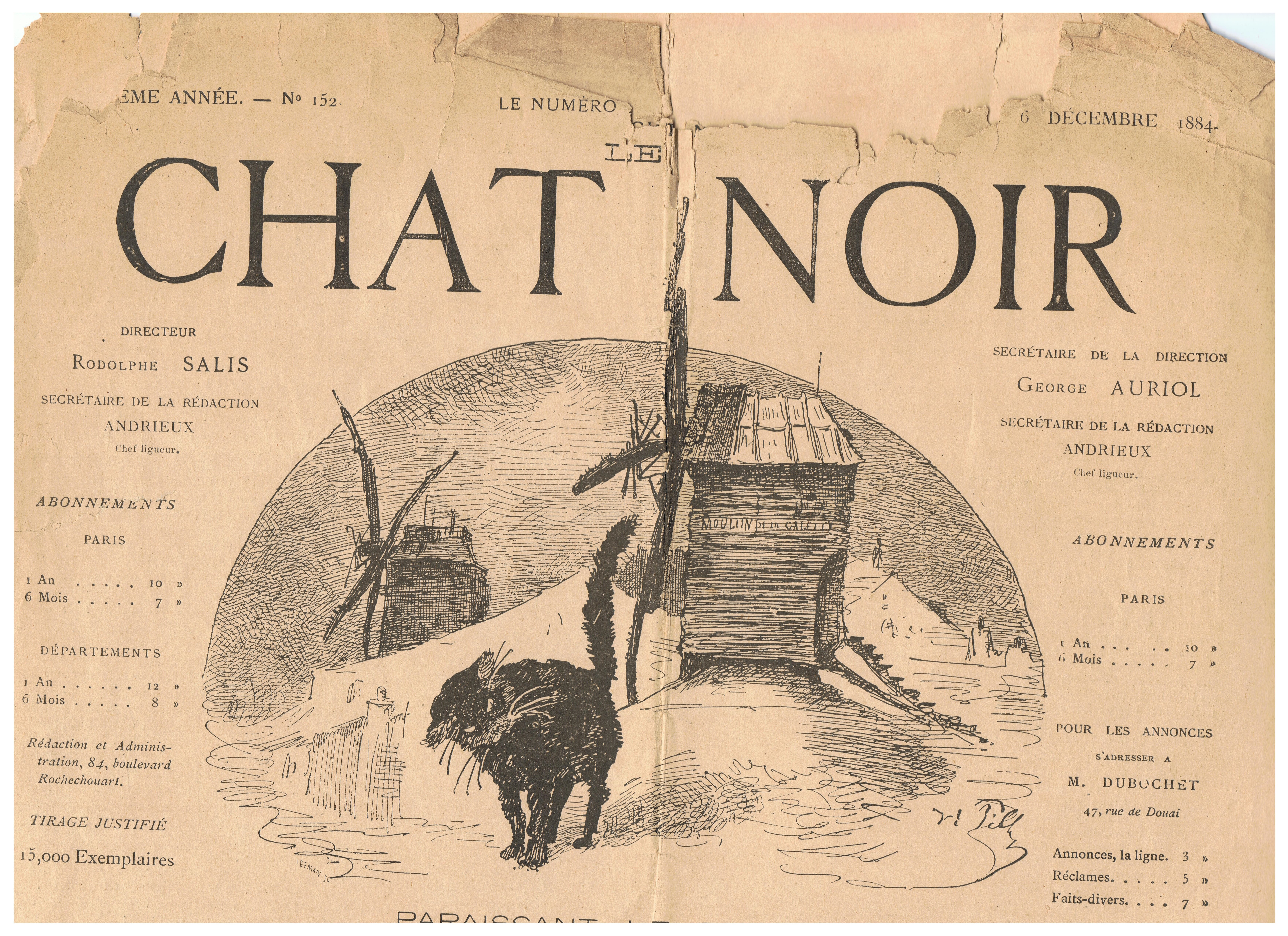 What Does Le Chat Noir Mean