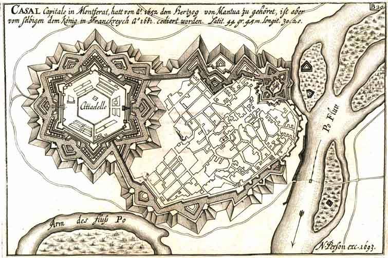 Casale Monferrato map (018 005)