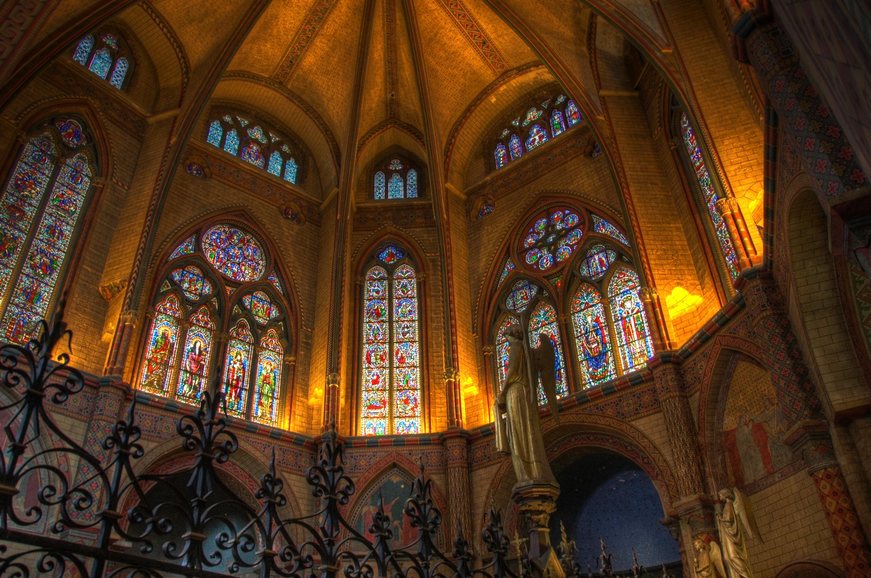 File cath drale saint tienne de cahors le coeur - Cathedrale saint etienne de cahors ...