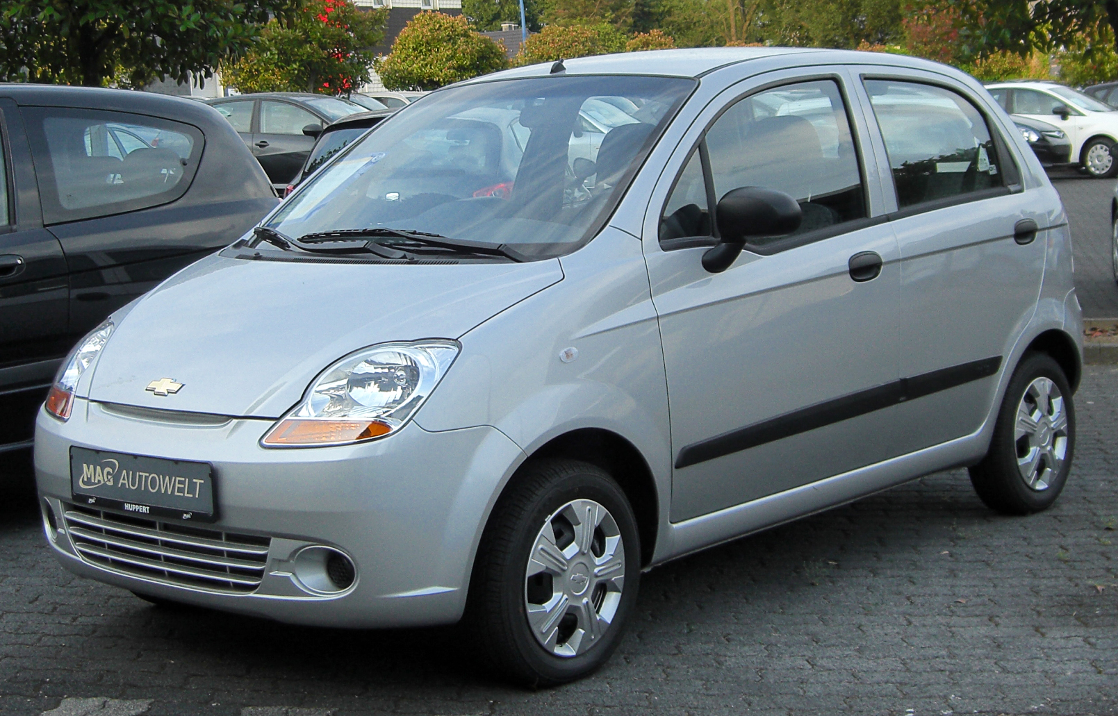 Daewoo Matiz Wikipedia Chevrolet 2009 Manual M200 Front 20100630