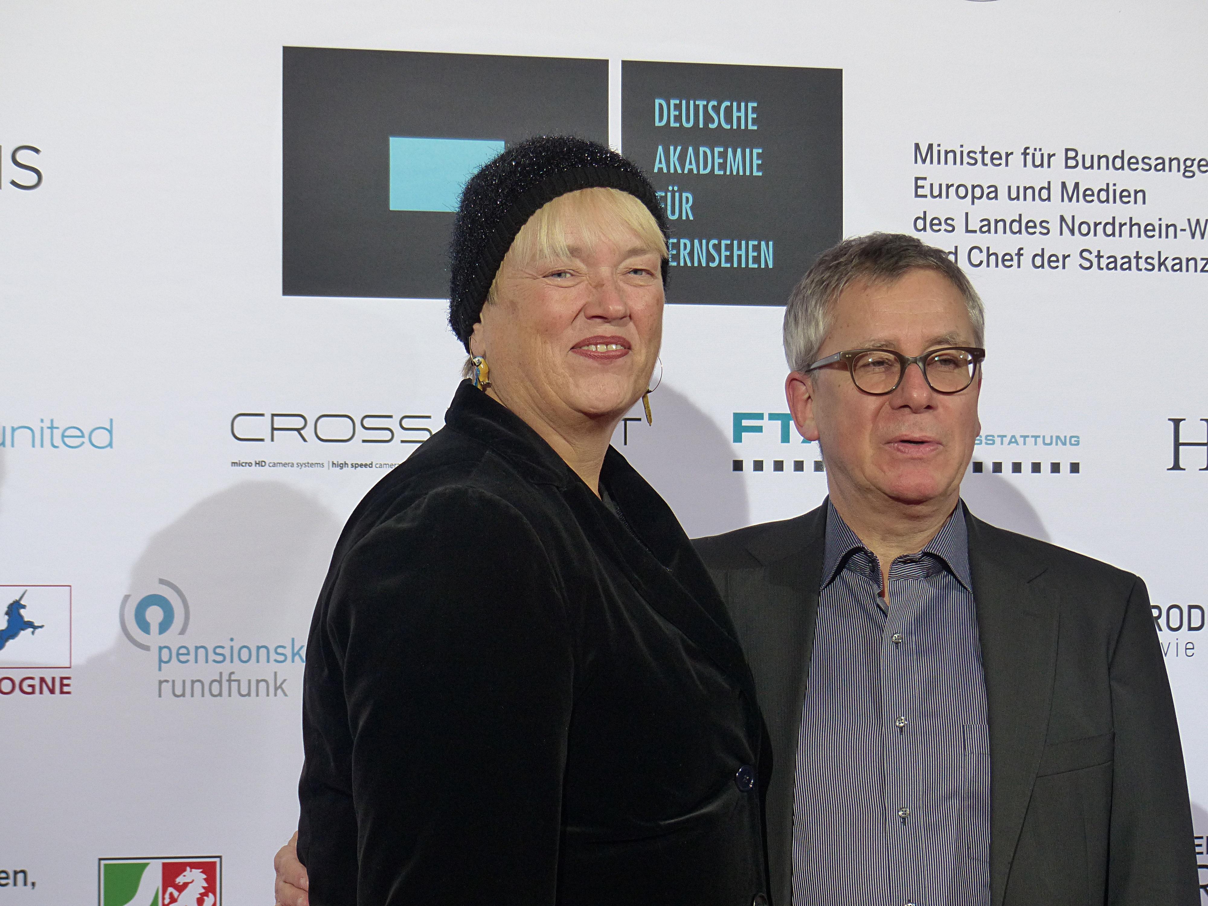 Filechristiane Ruff Fernsehproduzentin Und Prof Gebhard Henke Filmproduzent