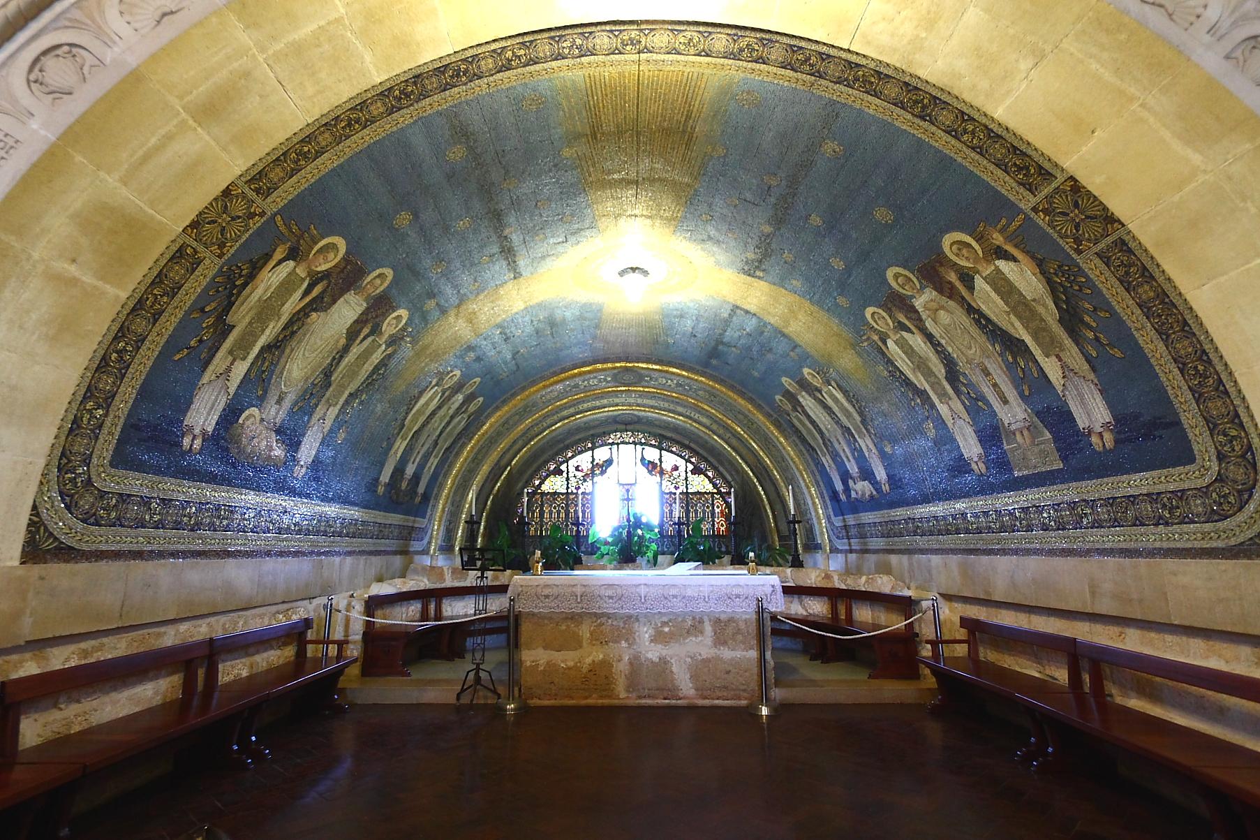 File:Church of the Transfiguration on Mt. Tabor.jpg ...