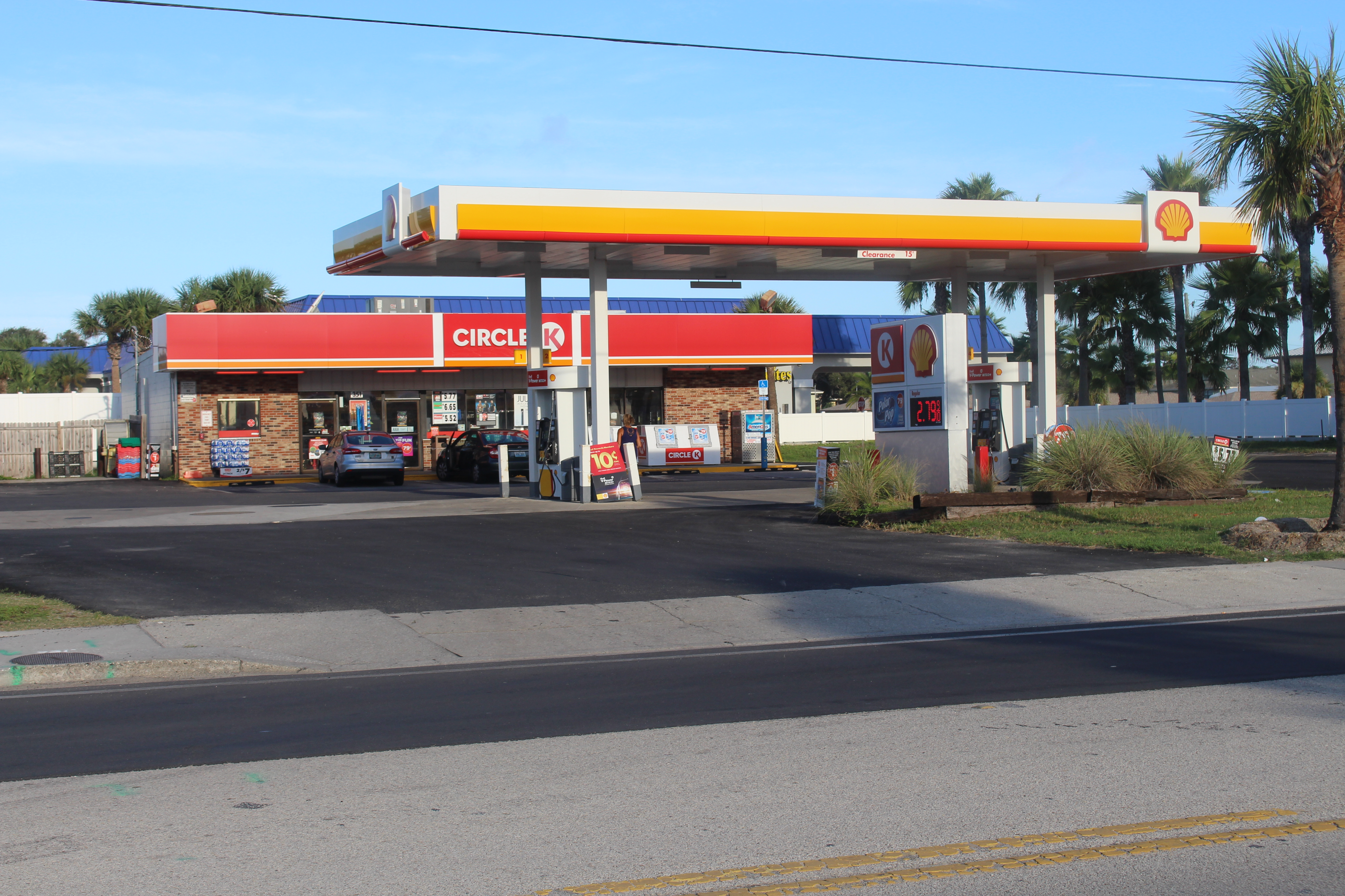 File:Circle K, Shell gas station St  Augustine Beach jpg - Wikimedia