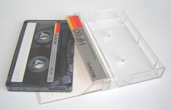 Compact audio cassette 2