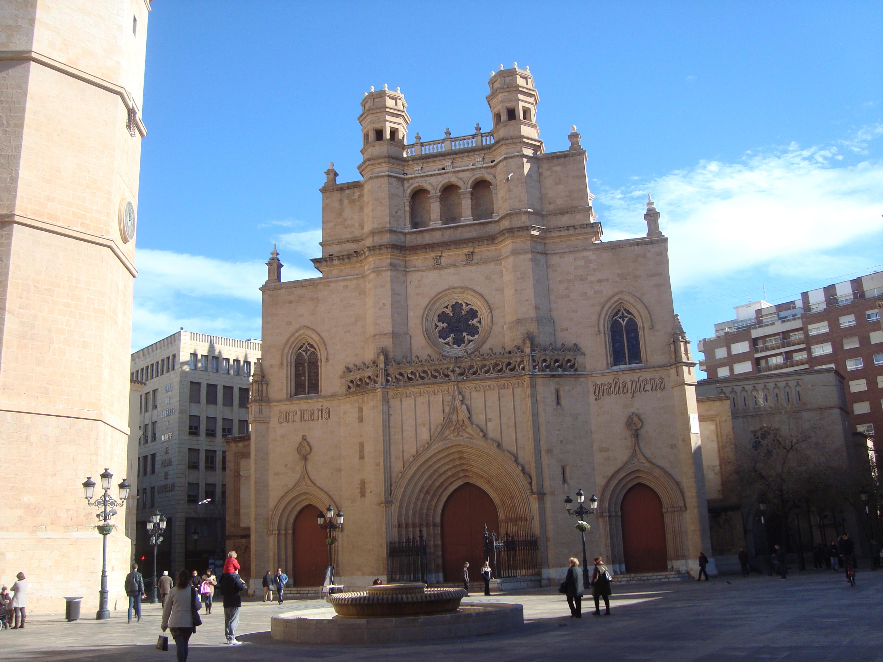 File concatedral de santa mar a castell n de la plana jpg wikipedia - Muebles en castellon dela plana ...