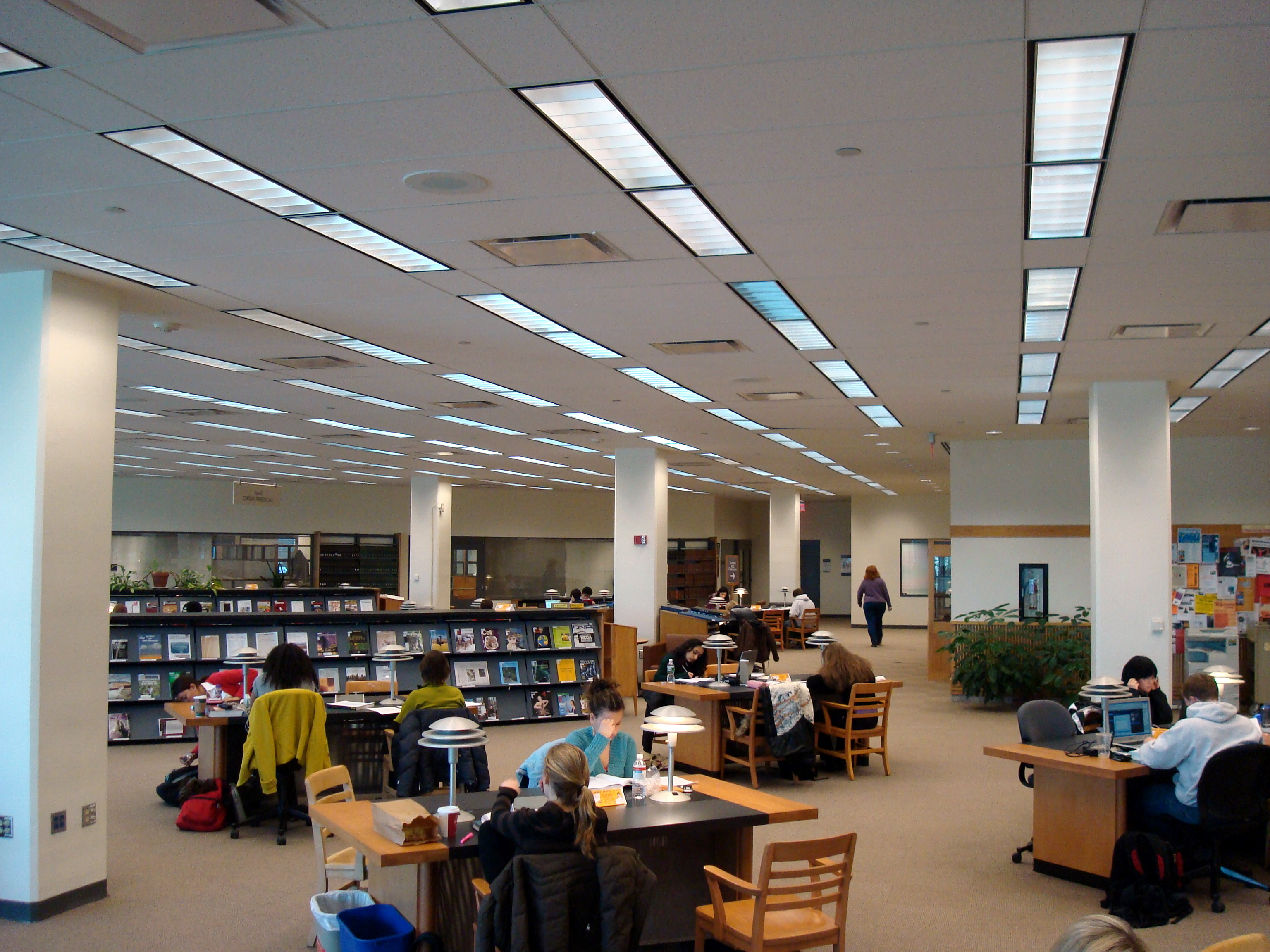Cornell Mann Library Rooms