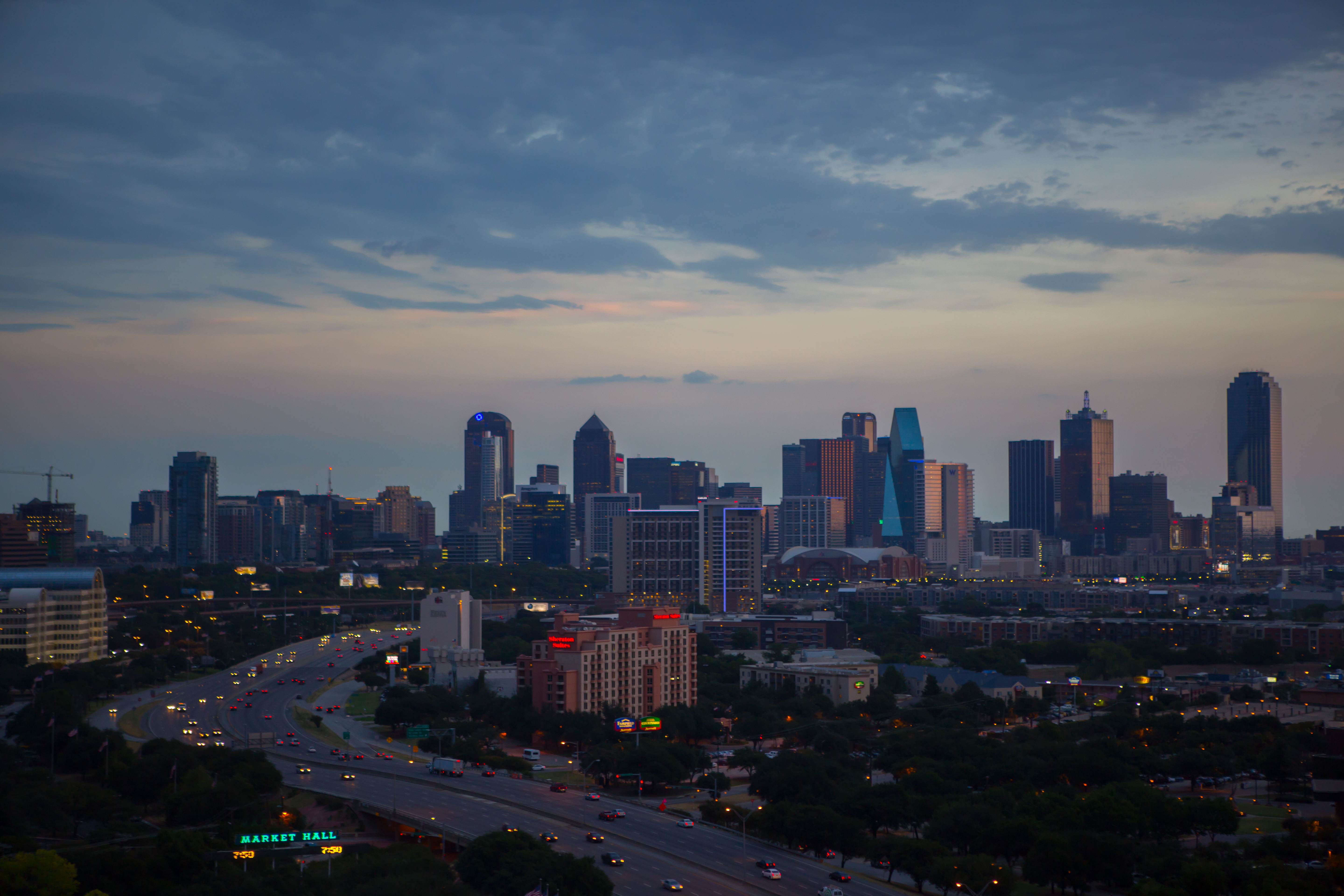 Th the largest city in california - Dallas Texas
