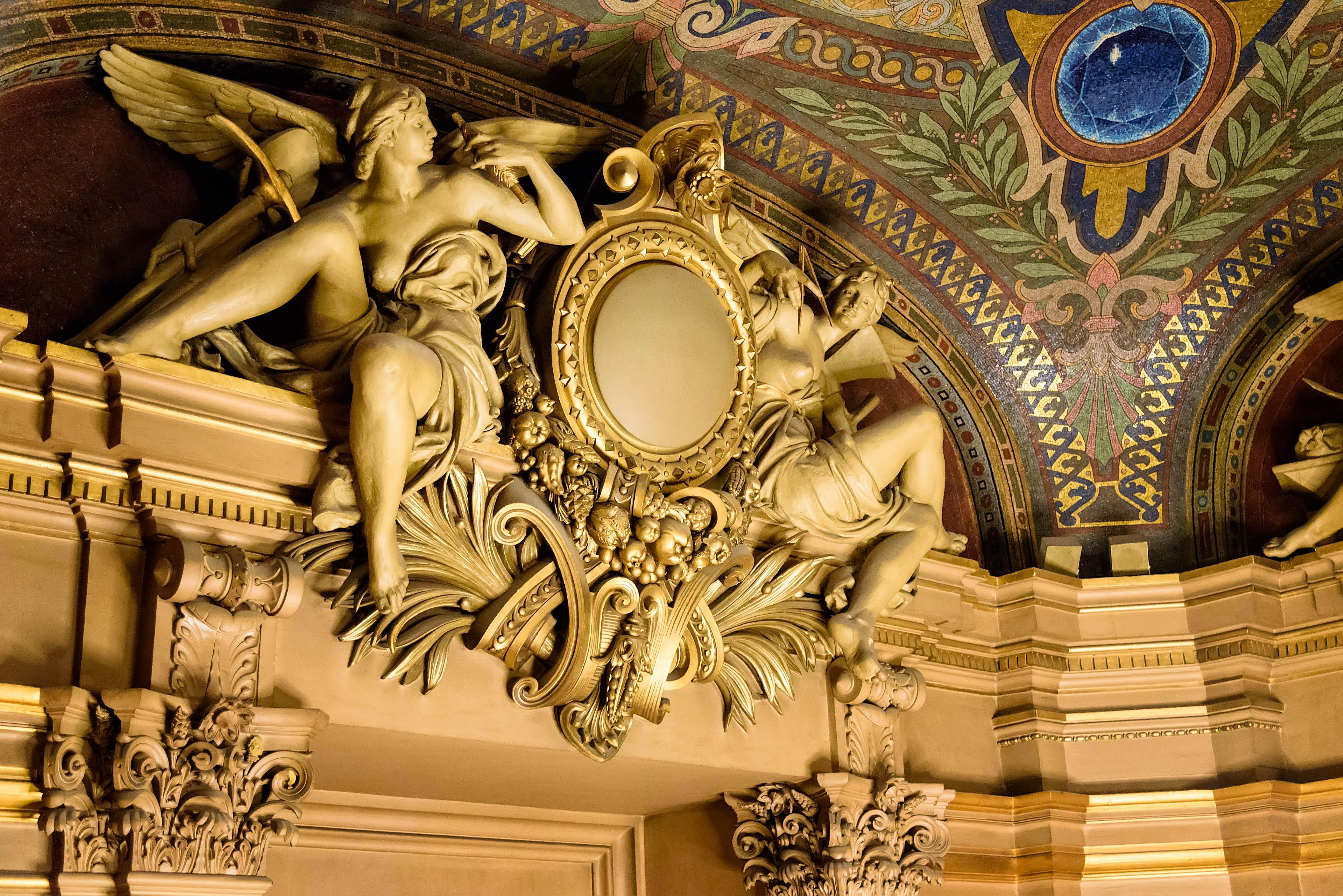 Filedecoration In The Opera Garnier In Paris July 2015jpg