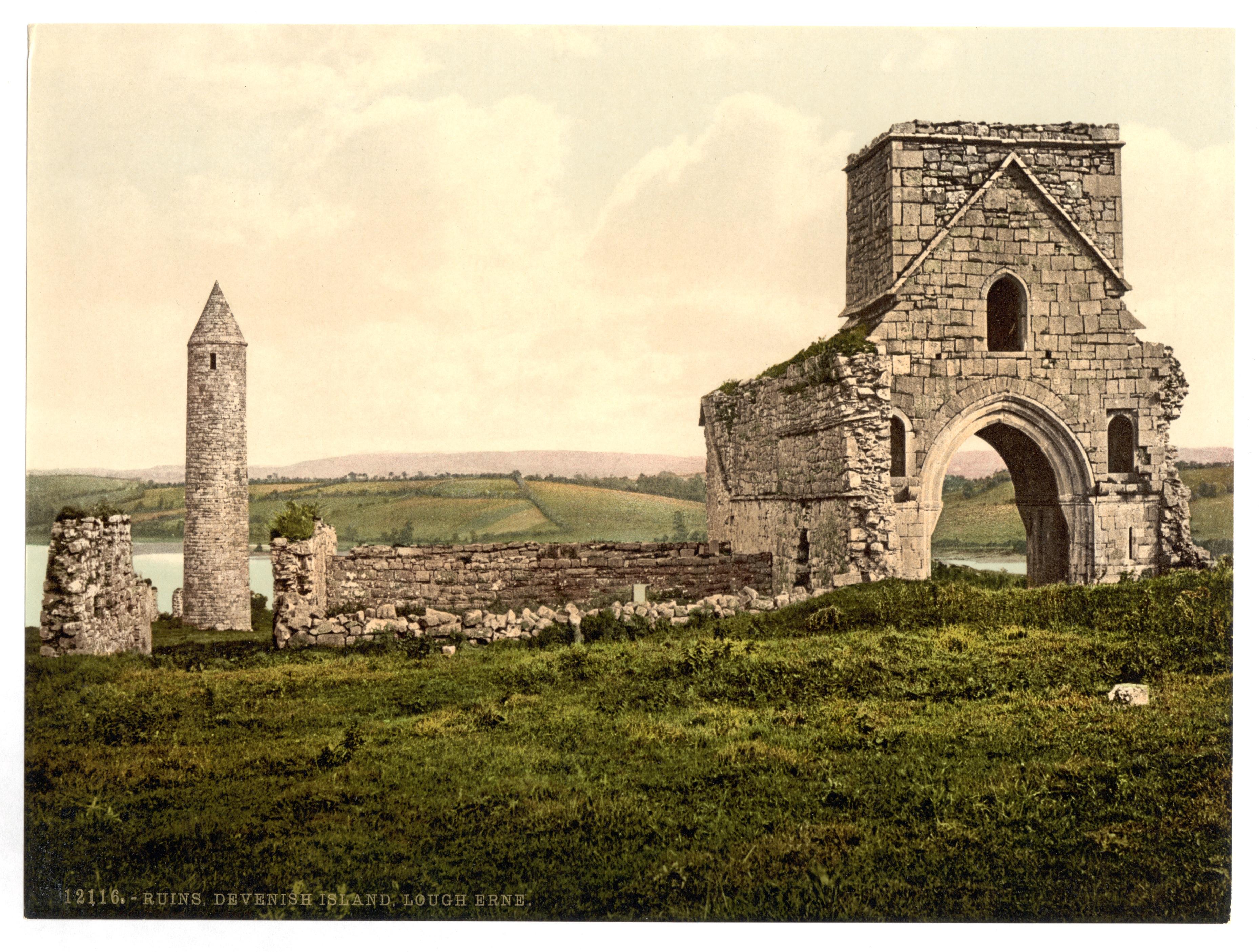 Lower Main Street, Lisnashea, Lisnaskea, Co. Fermanagh ...  County Fermanagh History