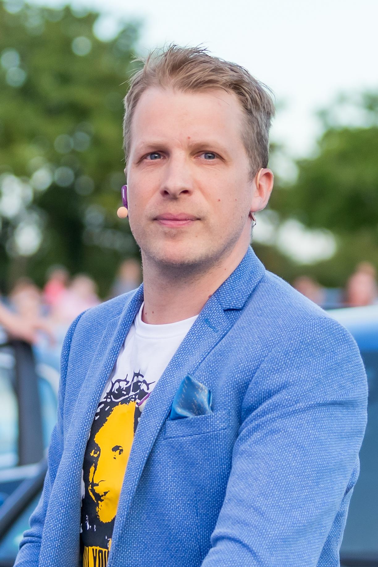 43-år gammel 170 cm høy Oliver Pocher i 2021