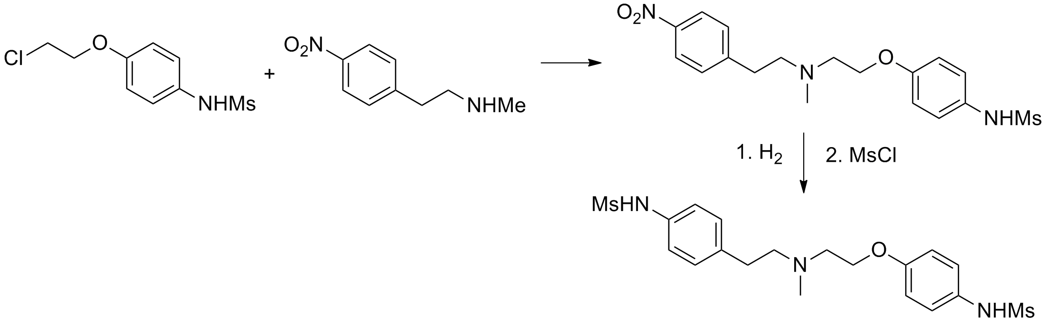 File:Dofetilide synthesis.png - Wikimedia Commons