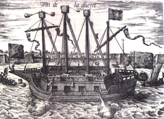 File:Dutch Ship Fin de la Guerre (Finis Bellis), Siege of Antwerp