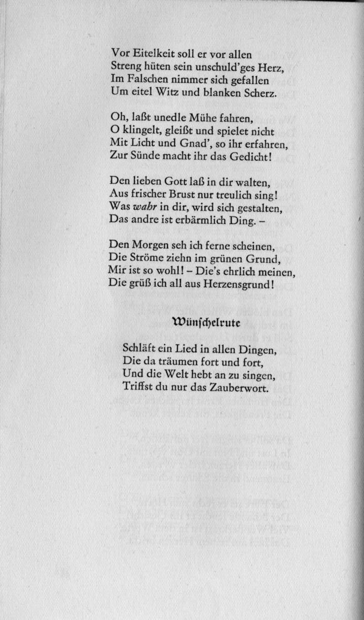 Fileeichendorff Gedichte Wünschelrutejpg Wikimedia Commons