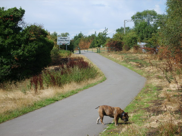 Entrance to Sheldon Country Park - geograph.org.uk - 226547