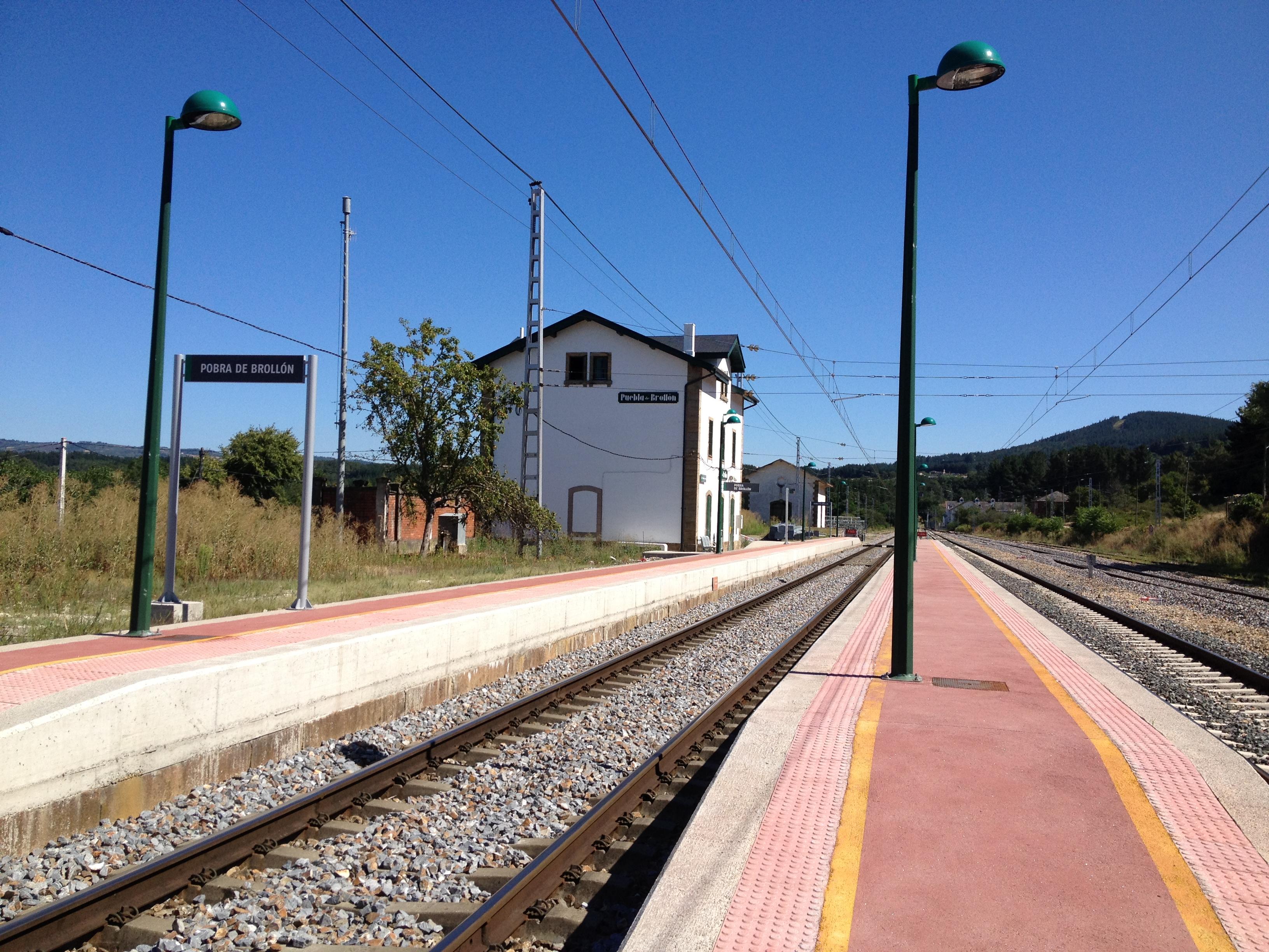 Estación da Pobra do Brollón