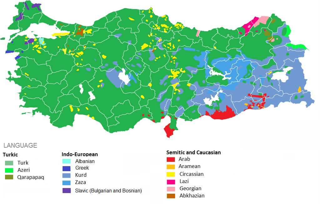 Demographics of Turkey - Wikipedia