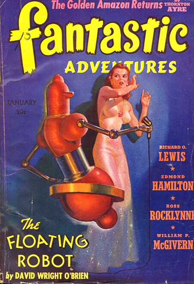 Fantastic Adventures 1941 Jan cover