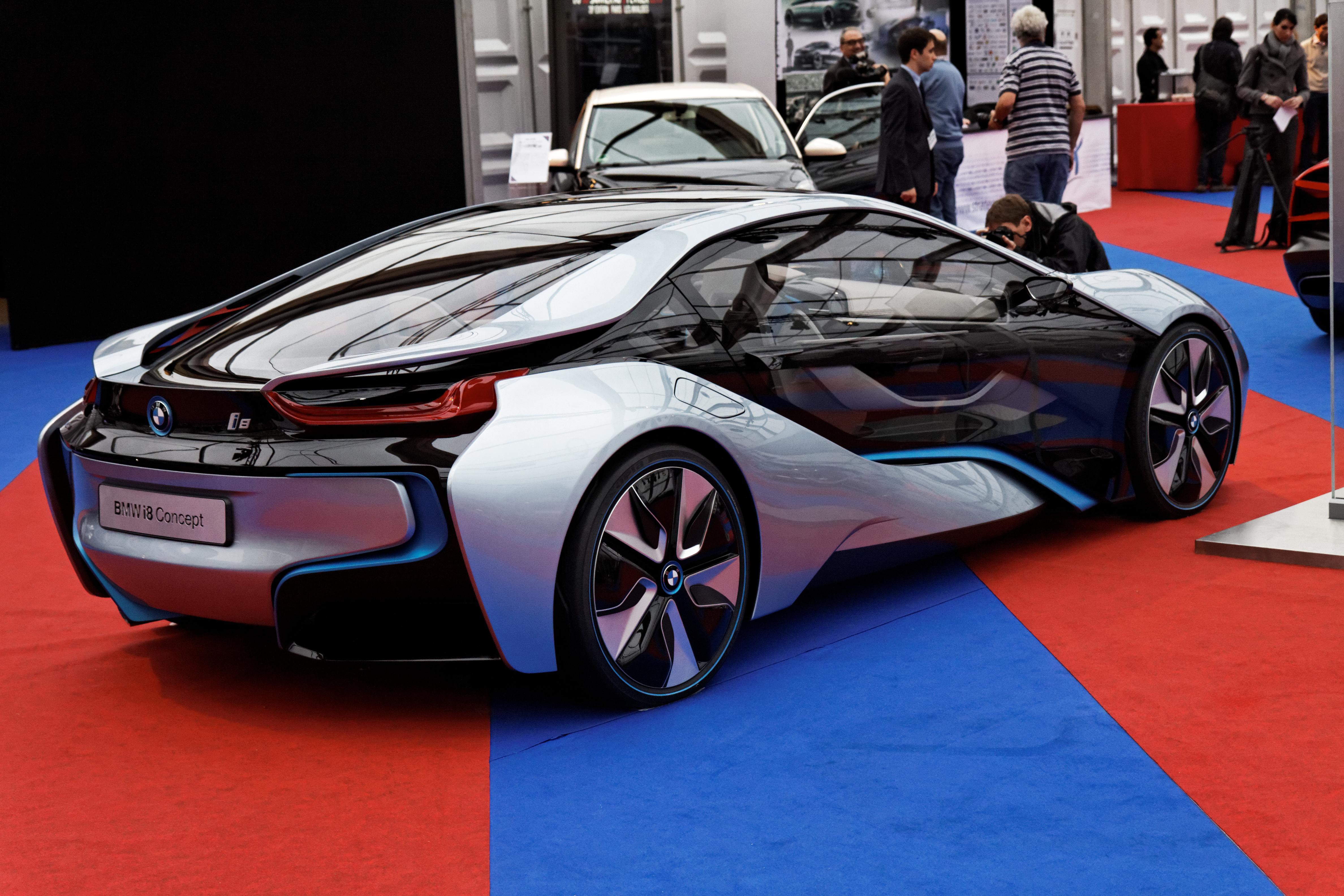 FileFestival Automobile International BMW I Concept - 2013 bmw i8