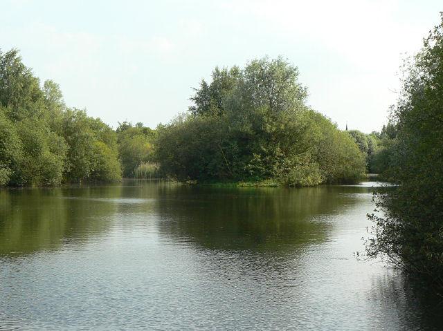 Finger ponds - geograph.org.uk - 1386238