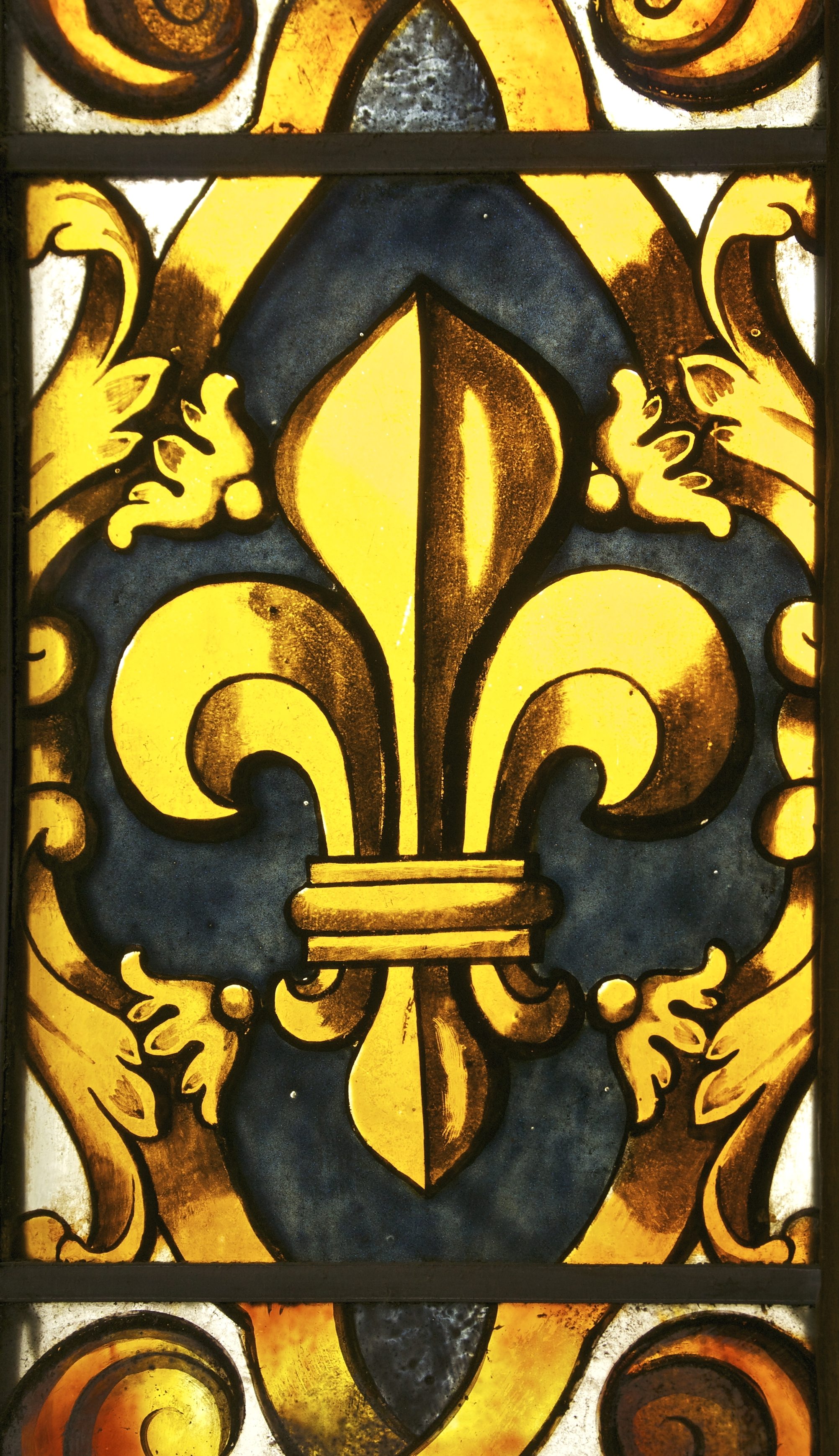 file fleur de lis vitrail chapelle royale wikimedia commons. Black Bedroom Furniture Sets. Home Design Ideas