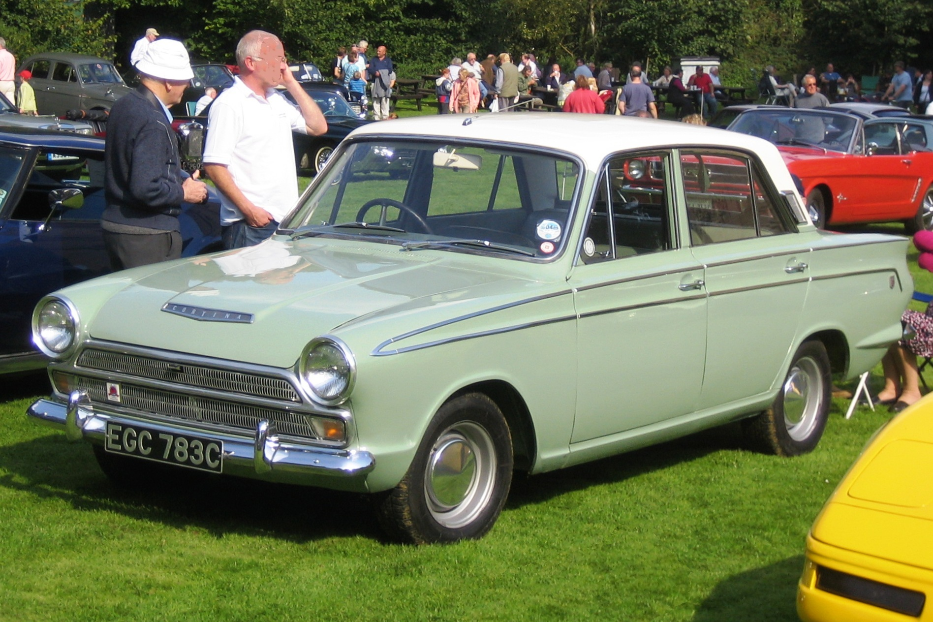 File Ford Cortina Gt 1965 Castle Hedingham 2008 Jpg