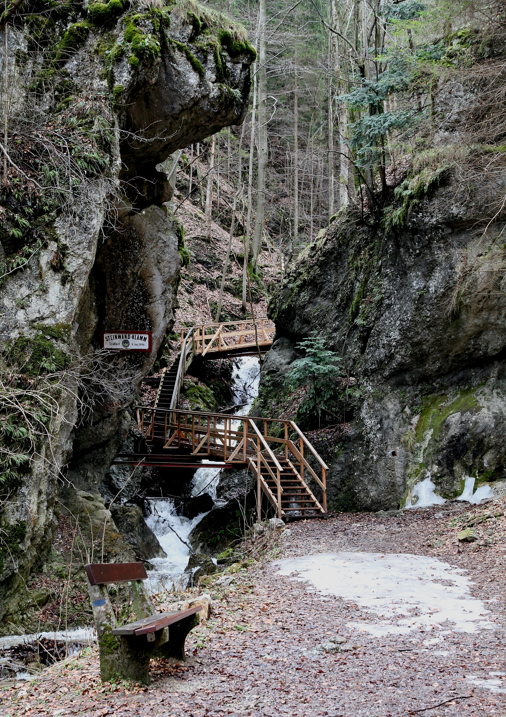Filefurth Adt Steinwandklamm Eingangjpg Wikimedia Commons