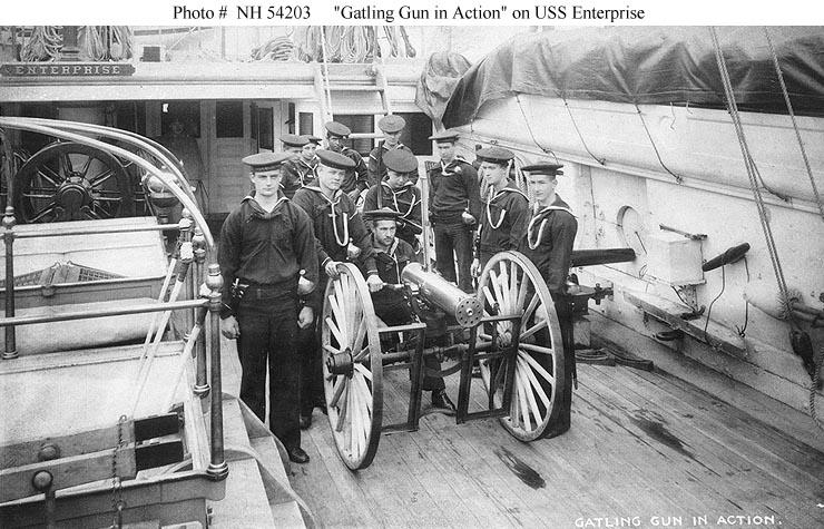 Gatling gun photo