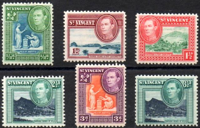 postage stamps and postal history of saint vincent and the grenadines