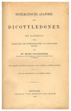 Hans Solereder - Wikipedia