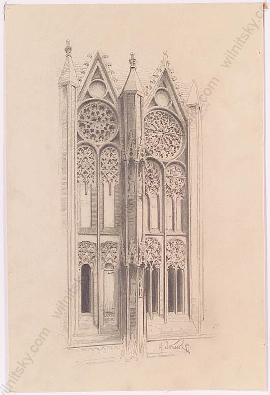 Soubor Heinrich Jakesch Architektura Kresba Jpg Wikipedie
