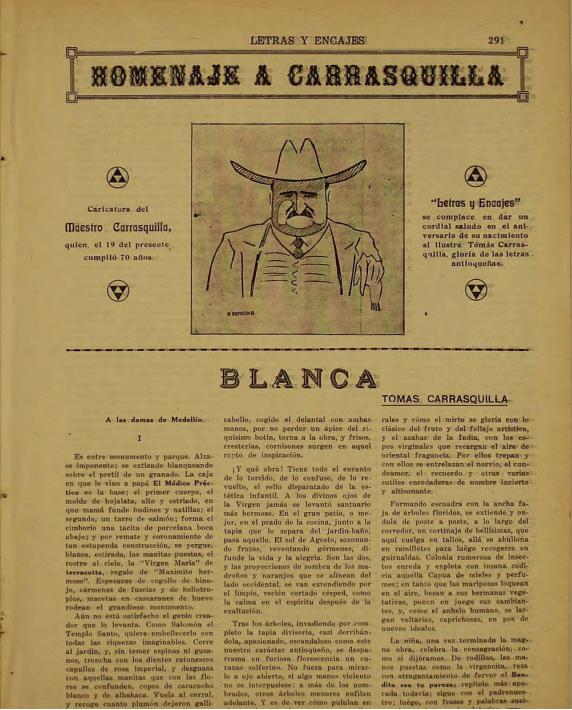 Archivo:Homenaje Tomas Carrasquilla, Enero 1928.png - Wikipedia, la  enciclopedia libre