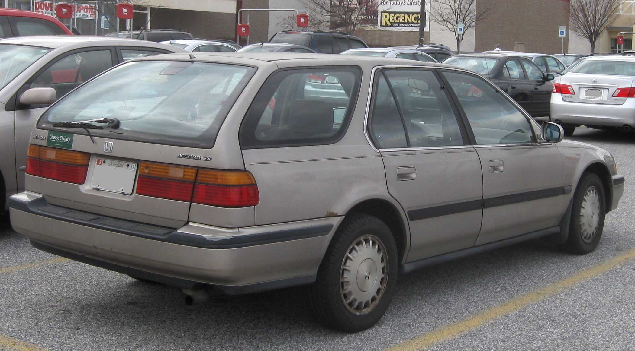 91 honda accord wagon