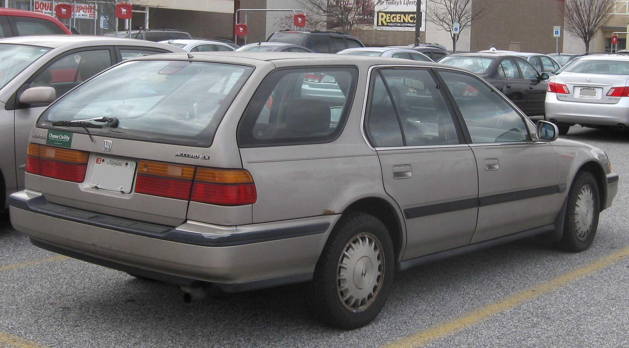 File:Honda Accord EX wagon.jpg - Wikimedia Commons