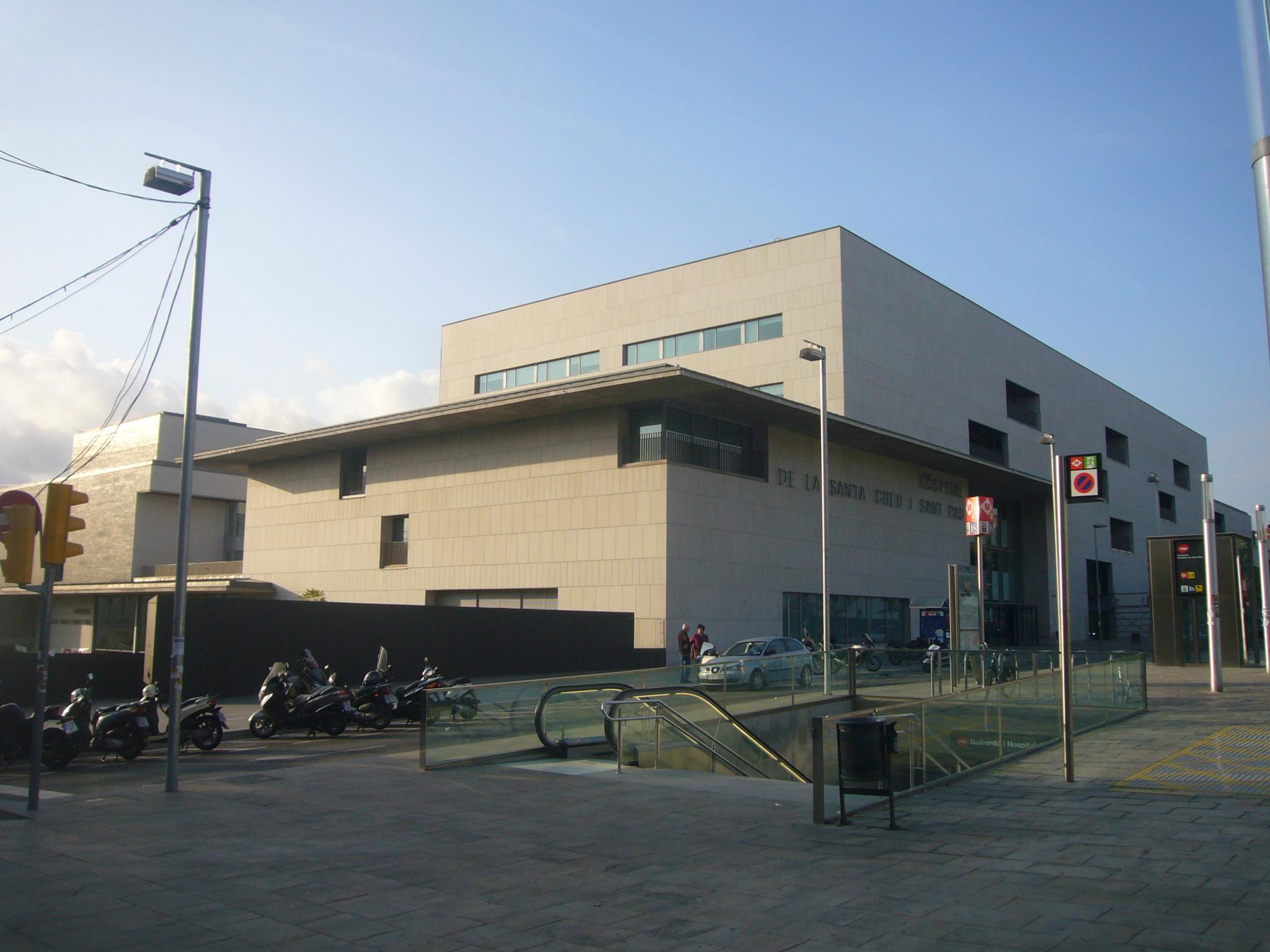 Estació de Guinardó - Hospital de Sant Pau