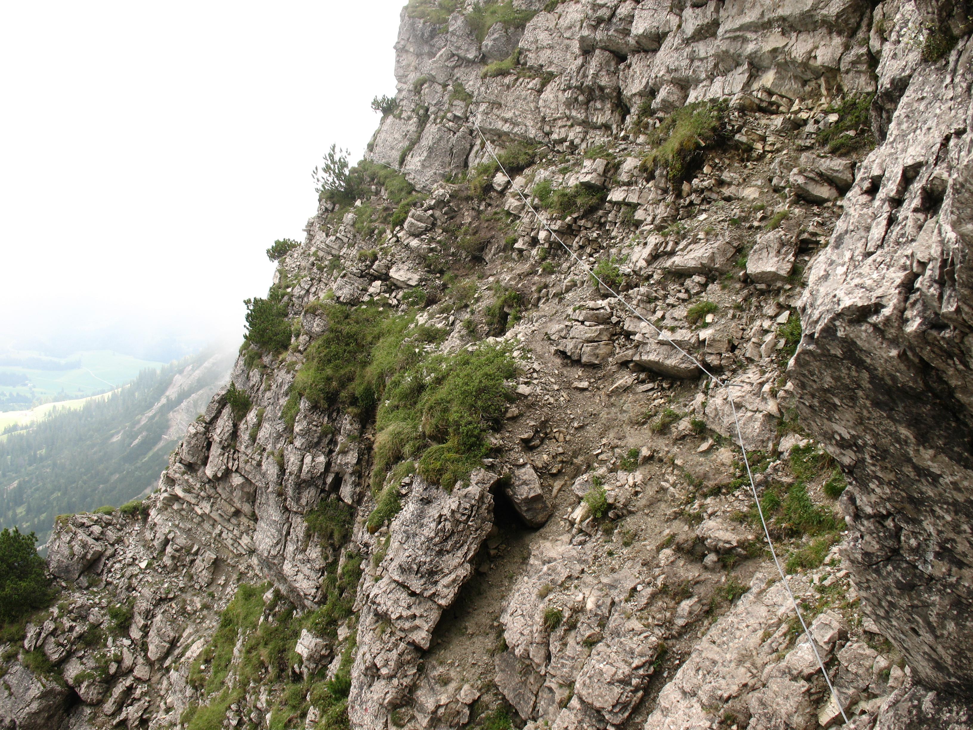 Klettersteig Iseler : Feierabend im allgäu über den salewa klettersteig c auf