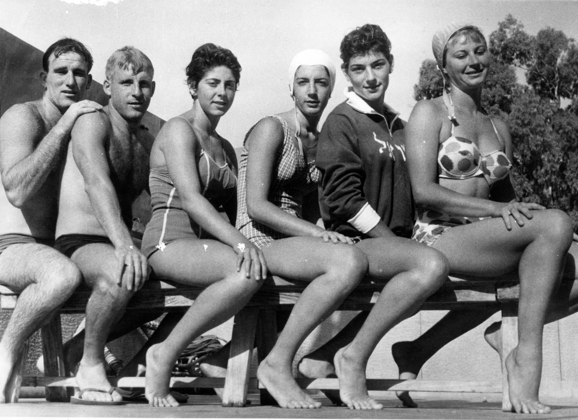 File:Israel elite swimmers March 1959 jpg - Wikimedia Commons