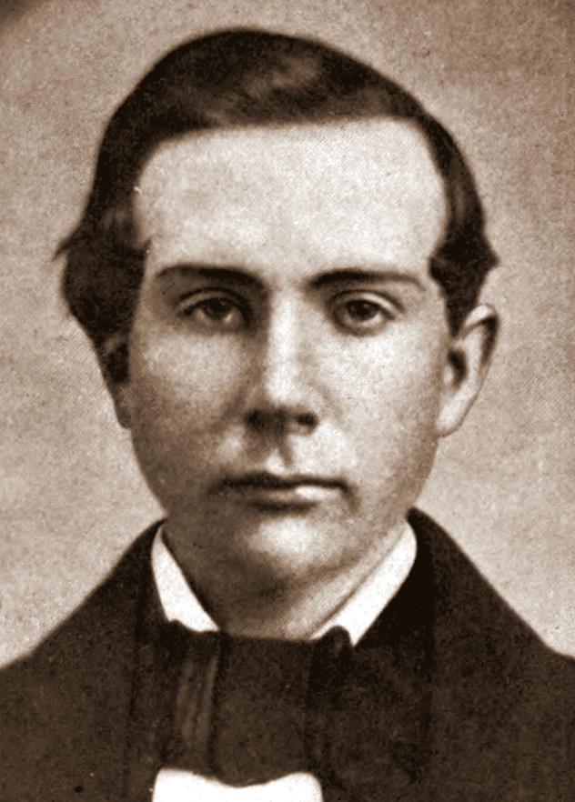 Young John D. Rockefeller courtesy wikimedia