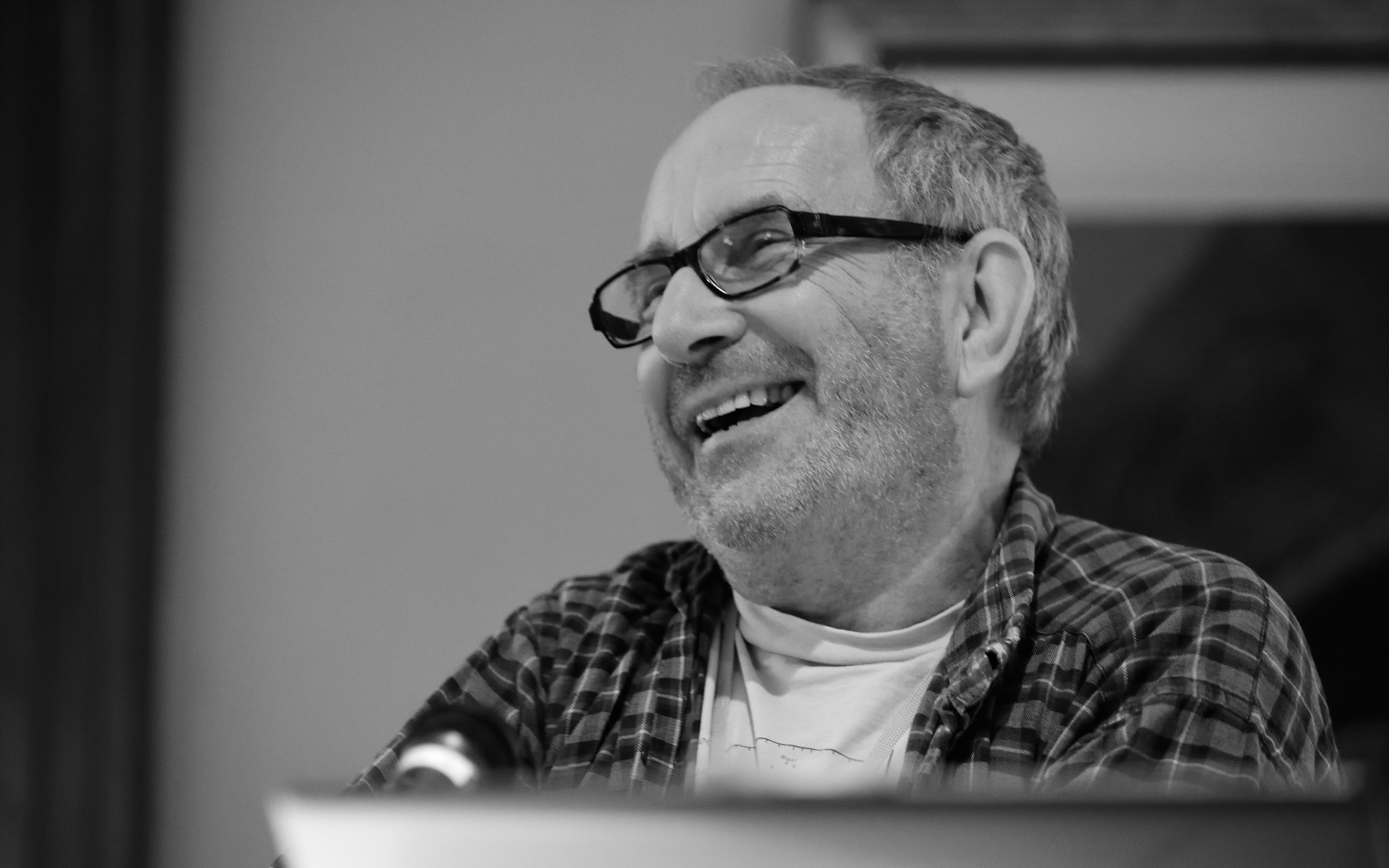 Gribbin at [[Novacon]] in 2014